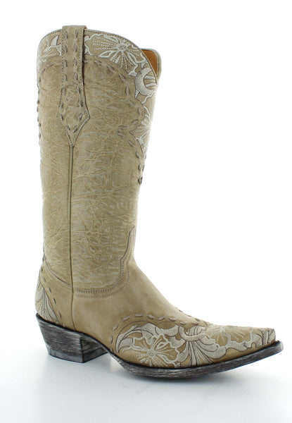 Erin - Relaxed Fit - Old Gringo Boots (Bone)