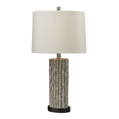 Bamboo Table Lamp - Oval