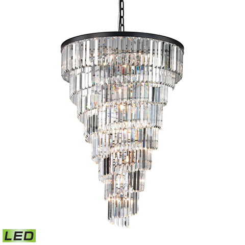 Palacial 14 Light LED Chandelier In Oil Rubbed Bronze