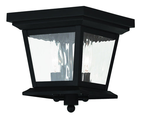20230-04 Hathaway Outdoor Ceiling Mount Black