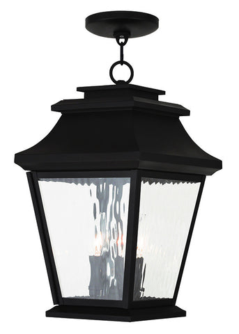 20237-07 Hathaway Outdoor Chain Hang Lantern  Bronze
