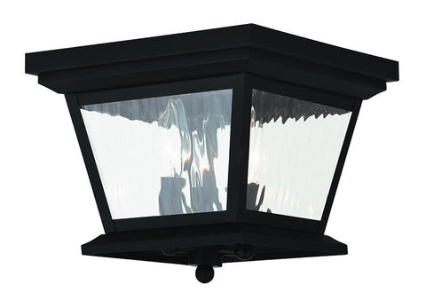 20239-04 Hathaway Outdoor Ceiling Mount Black