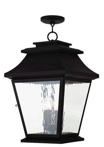20243-07 Hathaway Outdoor Chain Hang Lantern  Bronze