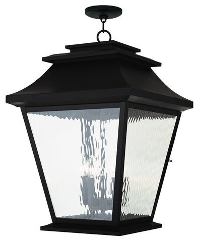 20247-07 Hathaway Outdoor Chain Hang Lantern  Bronze