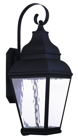 20265-04 Exeter Outdoor Wall Lantern Black
