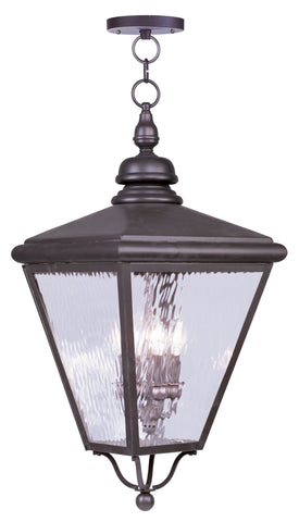 Cambridge Outdoor Pendant Bronze