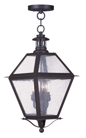 Waldwick Outdoor Pendant Bronze