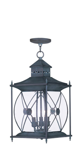 Providence Outdoor Pendant Charcoal