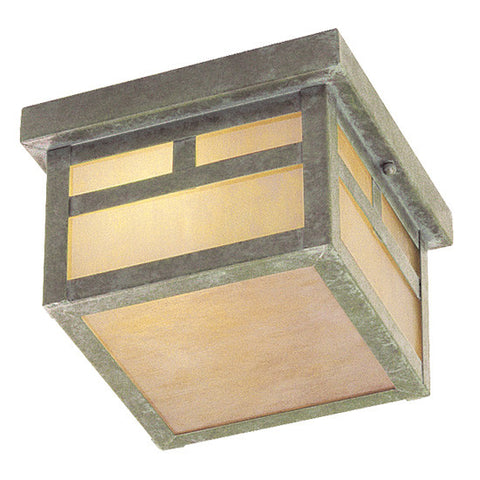 Montclair Mission Ceiling Light Verde Patina
