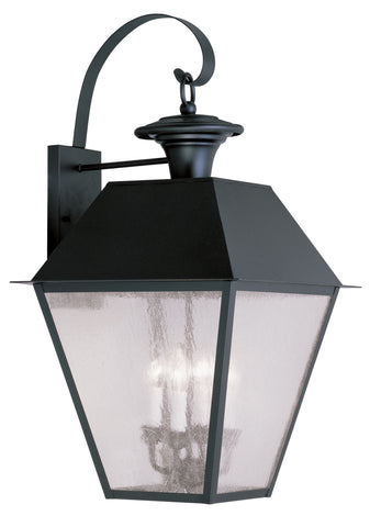 Mansfield Wall Light Black