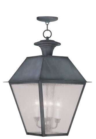 Mansfield Outdoor Pendant Charcoal