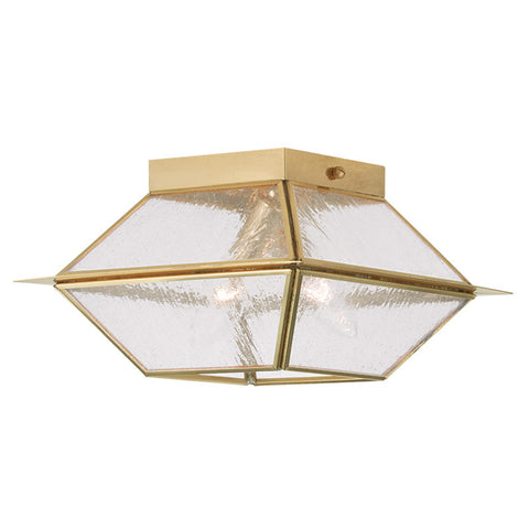 Mansfield Ceiling Light Polished Brass