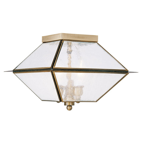 Mansfield Ceiling Light Antique Brass