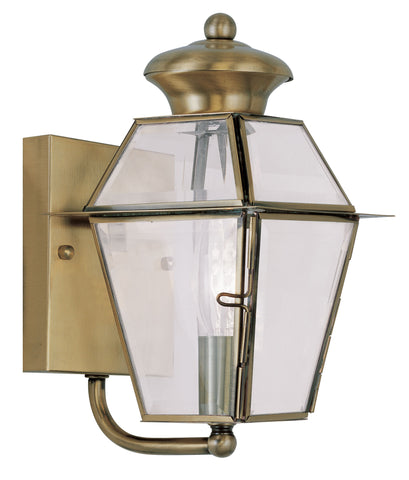 Westover Wall Light Antique Brass