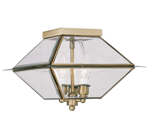 Westover Ceiling Light Antique Brass
