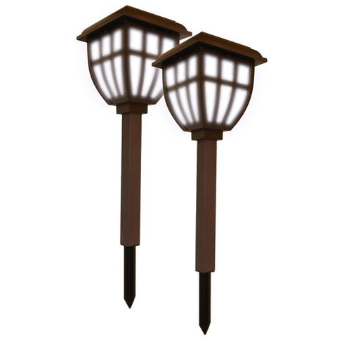 Nature Power 22076 Lifetime Series Solar Lantern Garden Lights