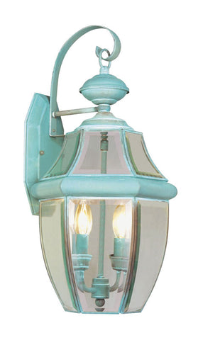 Monterey Wall Light Verdigris