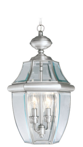 Monterey Outdoor Pendant Brushed Nickel