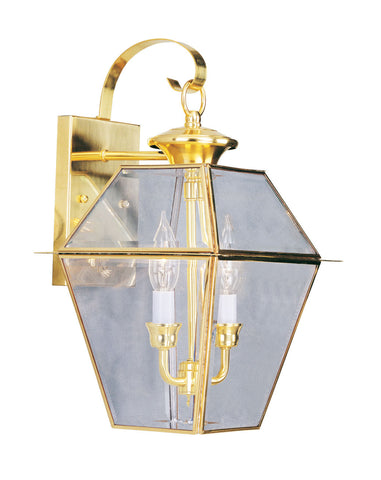 Westover Wall Light Polished Brass
