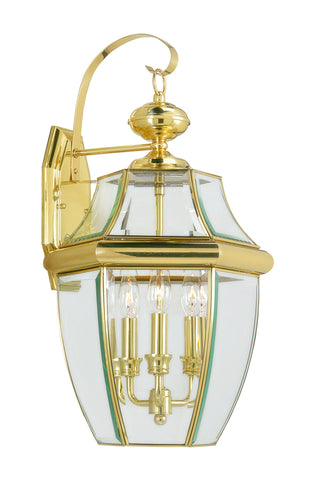 Monterey Wall Light Polished Brass