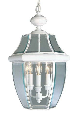 Monterey Outdoor Pendant White