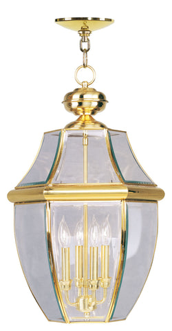 Monterey Outdoor Pendant Polished Brass
