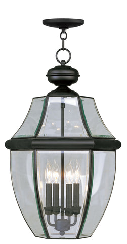 Monterey Outdoor Pendant Black