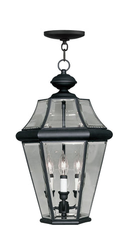 Georgetown Outdoor Pendant Black