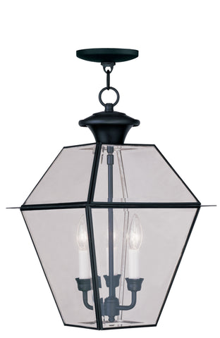 Westover Outdoor Pendant Black