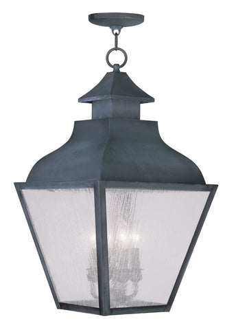 Vernon Outdoor Pendant Charcoal