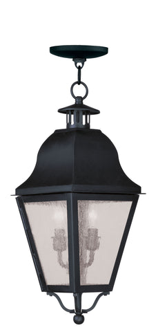 Amwell Outdoor Pendant Black