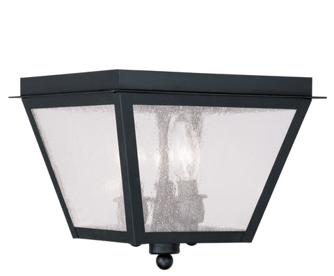 Amwell Ceiling Light Black