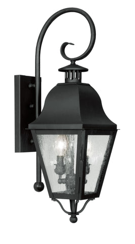 Amwell Wall Light Black