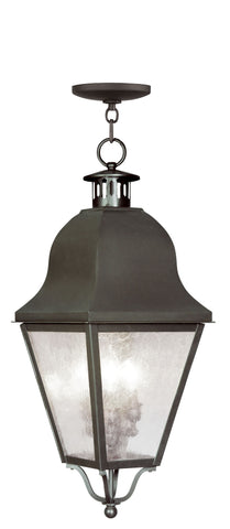 Amwell Outdoor Pendant Bronze