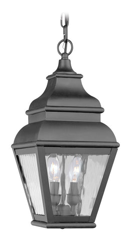Exeter Outdoor Pendant Black