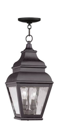 Exeter Outdoor Pendant Bronze