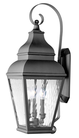 Exeter Wall Light Black