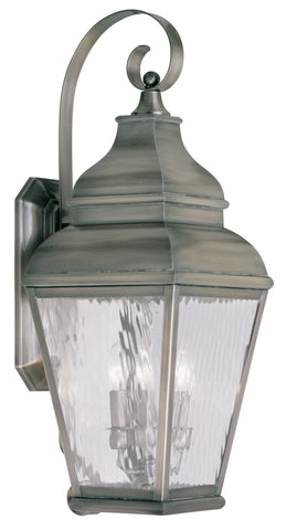 Exeter Wall Light Vintage Pewter