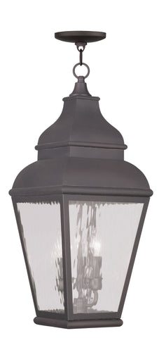 Exeter Outdoor Pendant Charcoal
