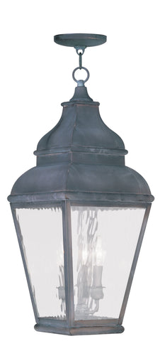 Exeter Outdoor Pendant Vintage Pewter