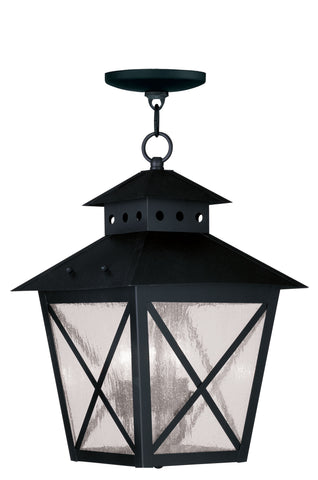 Montgomery Outdoor Pendant Black