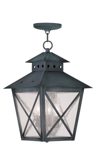 Montgomery Outdoor Pendant Charcoal