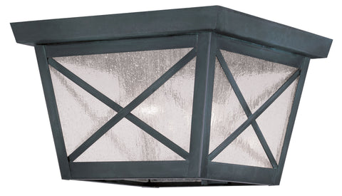 Montgomery Ceiling Light Charcoal