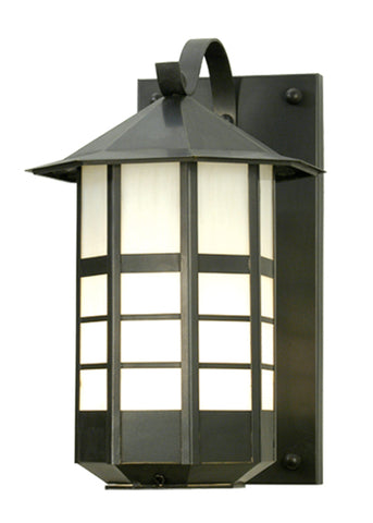 "11""W Tyrolean Lantern Wall Sconce"