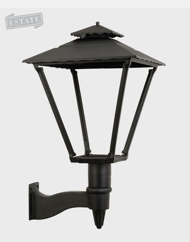 AGLW 3701W Old Allegheny Aluminum Gas Light Wall Mount