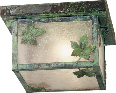"10""Sq Hyde Park Maple Leaf Flushmount 38554"
