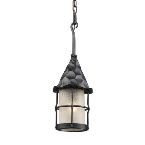Landmark 388-BK Rustica Collection Outdoor Pendant