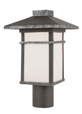 "40023 SWI Mission Creek II 15"" Post Mount Lantern"