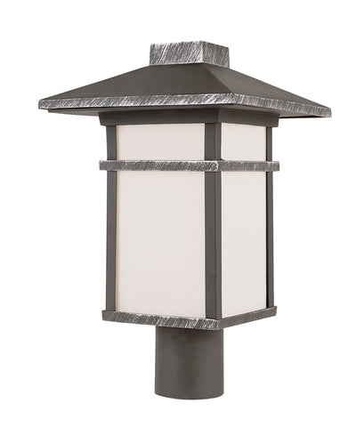 "40025 SWI Mission Creek II 17"" Post Mount Lantern"