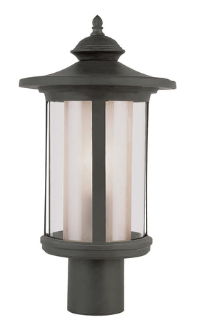 "40045 BK Tea Chimney Stack 20"" Post Top Lantern"